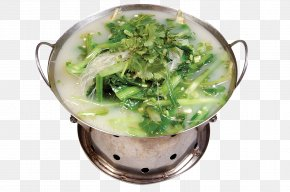 Pot Meat Steamed Cabbage - Leaf Vegetable Vegetarian Cuisine Food Bok Choy PNG
