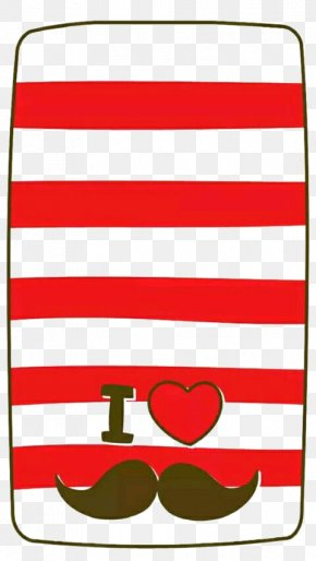 Red Stripe Phone Case - Red Wallpaper PNG