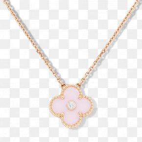 Van Cleef - Necklace Jewellery Earring Gold Diamond PNG