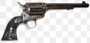 Hue - Colt Single Action Army Revolver Firearm .45 Colt Colt's Manufacturing Company PNG