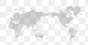 World Map Line Drawing - Globe World Map U30d4u30afu30b9u30bfu3231 PNG