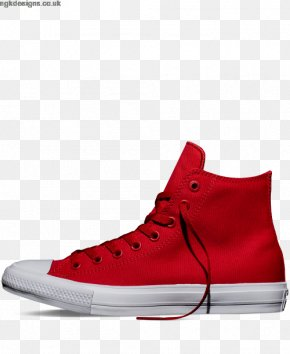 Red Plaid Converse Shoes For Women - Sports Shoes Chuck Taylor All-Stars Red Converse CT II Hi Black/ White PNG