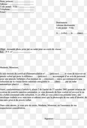 Email Résiliation Des Contrats En France Letter Sfr Business