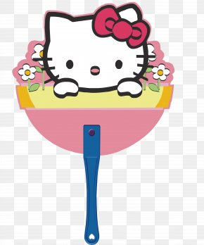Cartoon Shape Fan - Hello Kitty Sanrio Drawing Clip Art PNG