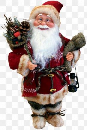Santa Claus Doll - Santa Claus Christmas Decoration Christmas Ornament Father Christmas PNG