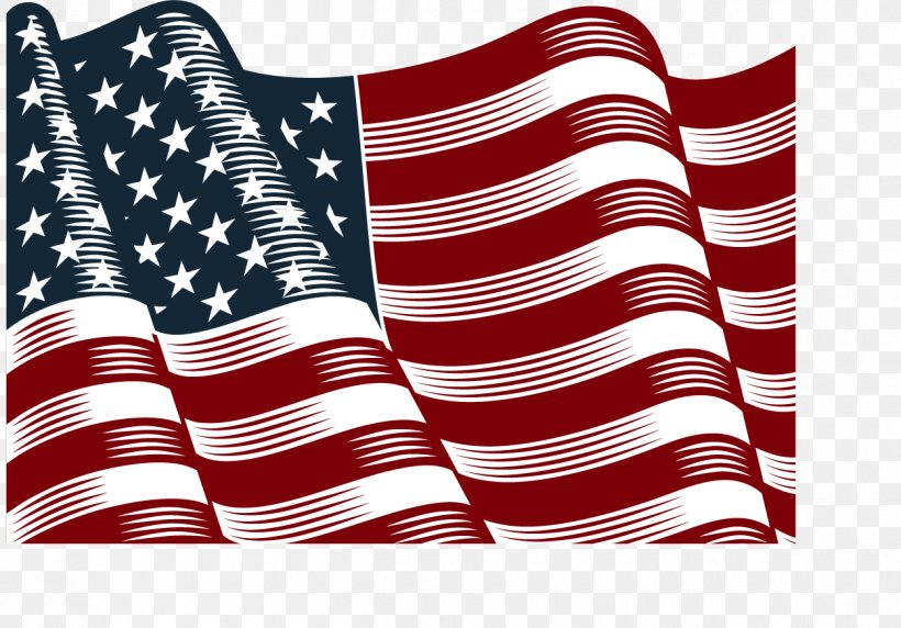 Vector Hand-painted American Flag, PNG, 1250x872px, New York City, Company, Flag, Flag Of The United States, Flag Protocol Download Free