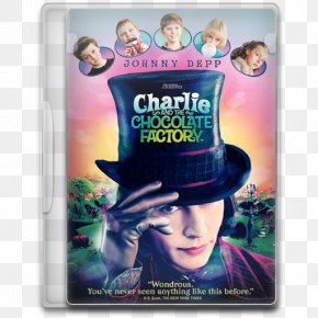Johnny Depp In Charlie And The Chocolate Factory - Charlie And The Chocolate Factory Charlie Bucket Willy Wonka Film PNG