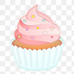Muffin Cake - Cupcake Baking Cup Buttercream Cake Decorating Supply Icing PNG