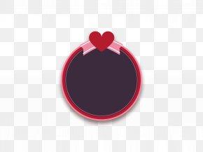Wedding - Red Circle Font PNG