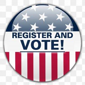 Register Button - United States Voting Voter Registration General Election PNG