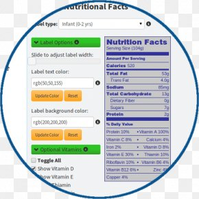 Nutrition Fact - Dietary Supplement Nutrition Facts Label Food And Drug Administration PNG