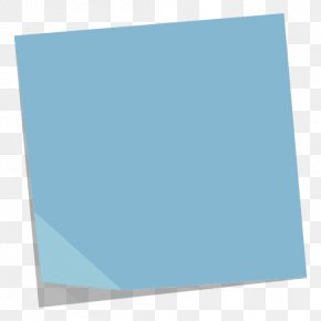 Post-it Note - Post-it Note Paper Blue PNG