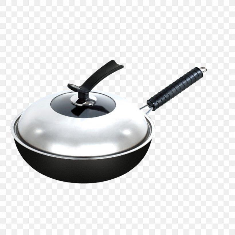 Wok Non-stick Surface Stock Pot Cookware And Bakeware Frying Pan, PNG, 1024x1024px, Wok, Castiron Cookware, Cooking, Cookware And Bakeware, Frying Pan Download Free