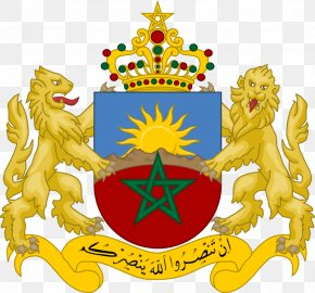 Morroco Flag - Coat Of Arms Of Morocco Crest Morocco National Football Team PNG