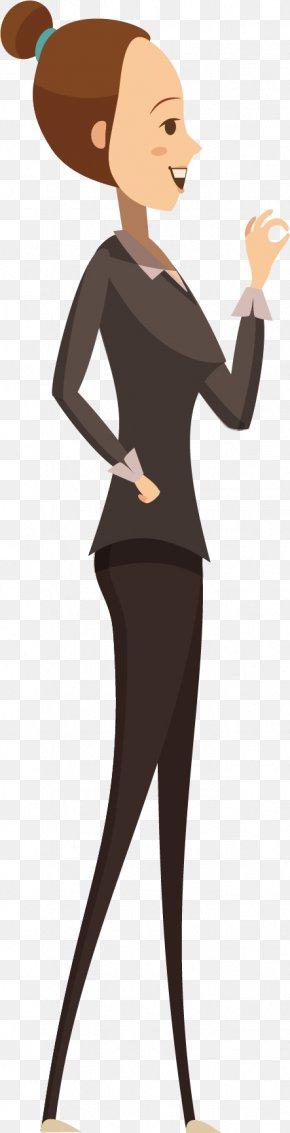 A Slender Woman Official - Civil Service Official Civil Servant PNG