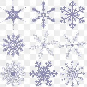 Beautiful Snow Falling Portfolio - Flower Shutterstock Stock Illustration Floral Design PNG