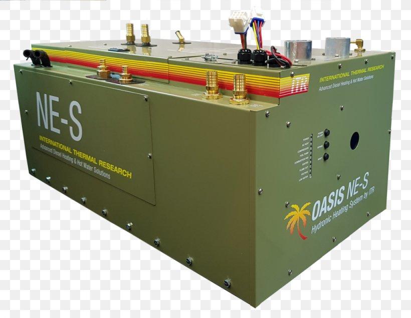 Hydronics Underfloor Heating System Caravan Park