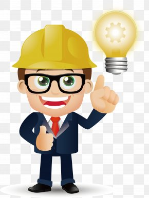 Architectural Engineer Vector Material - Cartoon Architecture PNG