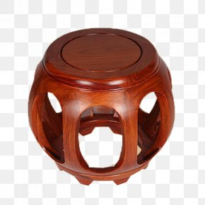 Drum Stool - Chinese Furniture Stool Chair Living Room PNG