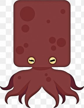 Liver Giant Pacific Octopus - Octopus Cartoon PNG