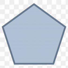 Shape - Pentagon Regular Polygon Shape Clip Art PNG