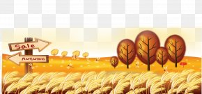 Autumn Background - Autumn Poster Advertising Sales Promotion PNG