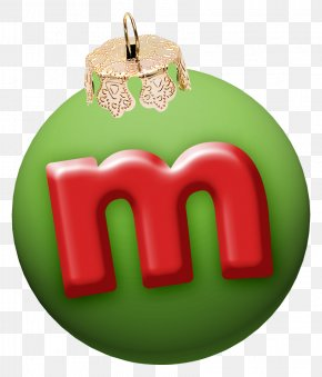 Christmas Letter M - Letter Christmas English Alphabet Font PNG