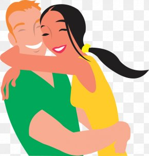 Free Picture Of Love - Couple Hug Love Romance Clip Art PNG