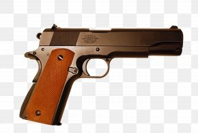 Policeman - Firearm M1911 Pistol Weapon Stock Colt's Manufacturing Company PNG