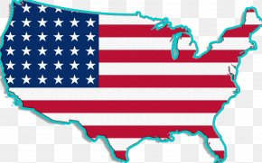 American Flag - United States Accent American English Thirteen Colonies Dialect PNG