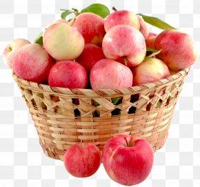 Apple Basket - Apple Crisp Fruit Gift Basket PNG