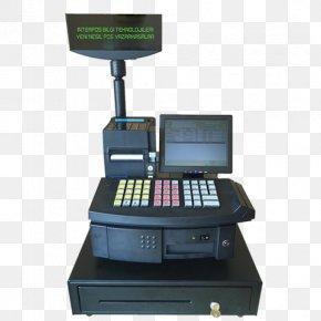 Computer - Cash Register Point Of Sale Sales Computer Paper PNG