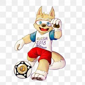 World Cup 2018 - 2018 FIFA World Cup Zabivaka DeviantArt Mascot Russia PNG