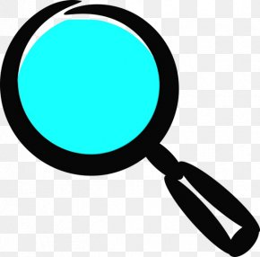 Magnifier Turquoise - Magnifying Glass Logo PNG