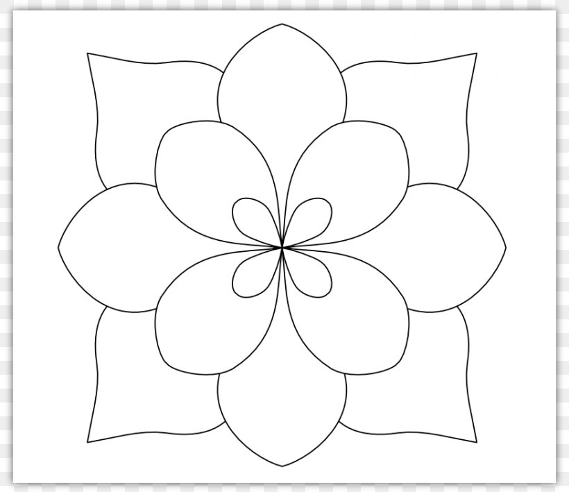 Floral Design Monochrome White Pattern Png 874x756px Floral Design Area Artwork Black And White Cut Flowers