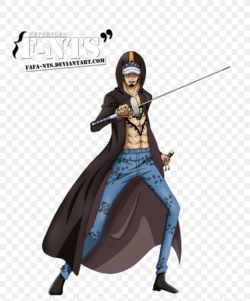 Trafalgar D. Water Law Monkey D. Luffy Donquixote Doflamingo One Piece Nico Robin, PNG, 809x986px, Trafalgar D Water Law, Action Figure, Costume, Costume Design, Donquixote Doflamingo Download Free