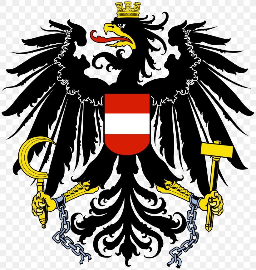 Coat Of Arms Of Austria National Coat Of Arms Flag Of Austria, PNG, 1136x1199px, Austria, Art, Beak, Bird, Bird Of Prey Download Free