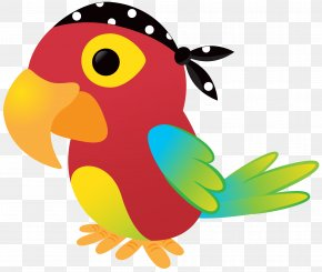 Pirate - Piracy Pirate Parrot Drawing Clip Art PNG
