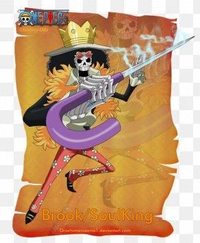 Brook One Piece - Gol D. Roger Monkey D. Luffy Brook Tony Tony Chopper Roronoa Zoro PNG