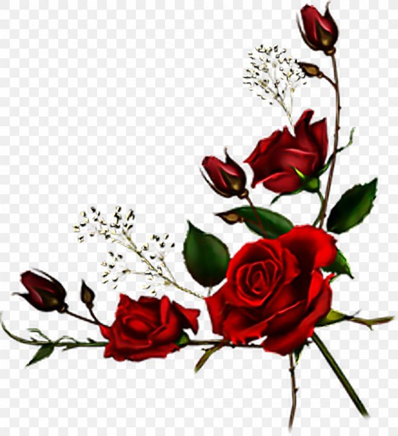 Burgundy Roses Clip Art