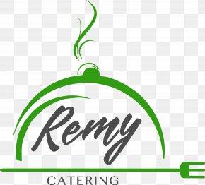 Catering - Leaf Logo Plant Stem Font PNG