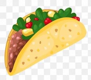 Taco Cliparts - Taco Mexican Cuisine Frybread Clip Art PNG