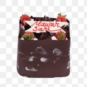 Chocolate Cake - Fudge Chocolate Cake Black Forest Gateau PNG