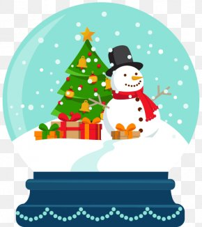 Snowman Crystal Ball - Christmas Tree Christmas Joy Grayscale Coloring Book For Adults: 46 Christmas Theme Coloring Pages And Big 55 Piece Bonus Download Snowman PNG