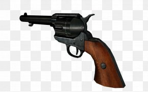Mafia - Firearm Colt Single Action Army Weapon Revolver Air Gun PNG