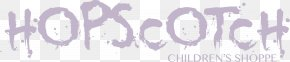 Hopscotch - Spalding's Scary Shorts Calligraphy Handwriting Logo Font PNG