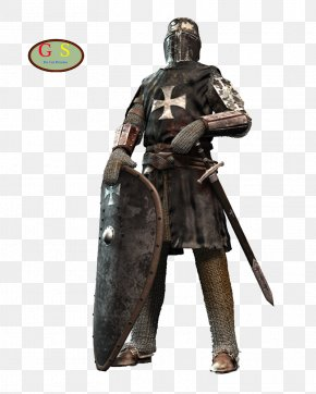 Medival Knight - Knight Crusader Middle Ages Crusades Knights Templar PNG