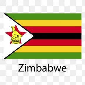 Flag - Flag Of Zimbabwe National Flag Great Zimbabwe Stock Photography PNG
