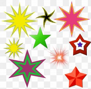 Shooting Star Cartoon Shining - Vector Graphics Illustration Chicago Image Five-pointed Star PNG