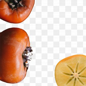 Persimmon - Clementine Fruit Salad Orange Persimmon PNG